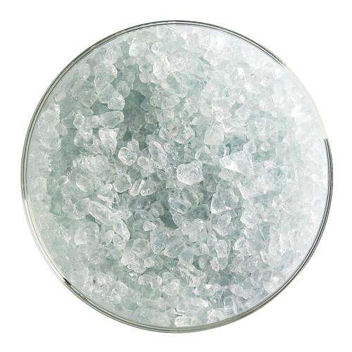 Bullseye Glass Juniper Blue Transparent Tint, Frit, Coarse, 5 oz jar 001806-0003-F-OZ05