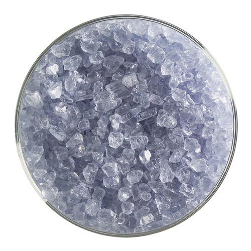 Bullseye Glass Indigo Transparent Tint, Frit, Coarse, 5 oz jar 001818-0003-F-OZ05