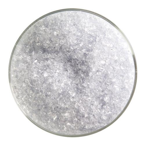 Bullseye Glass Gray Blue Transparent Tint, Frit, Medium, 5 oz jar 001864-0002-F-OZ05