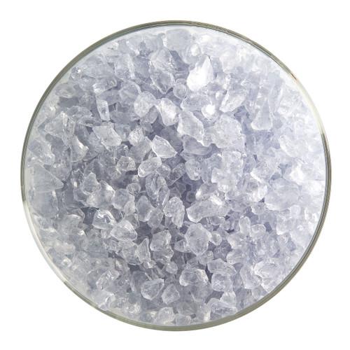 Bullseye Glass Gray Blue Transparent Tint, Frit, Coarse, 5 oz jar 001864-0003-F-OZ05