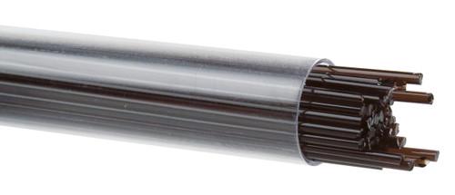 Dark Rose Brown Transparent, 2mm Stringer