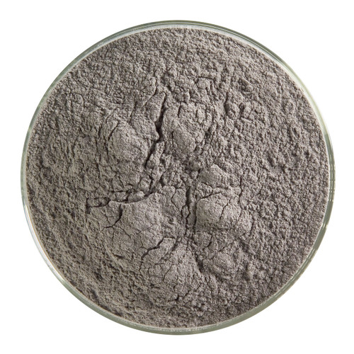 Bullseye Glass Black Opal, Frit, Powder, 1 lb jar 000100-0008-F-P001