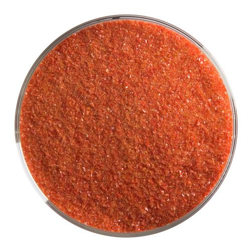 Bullseye Glass Red Opal, Frit, Fine, 1 lb jar 000124-0001-F-P001
