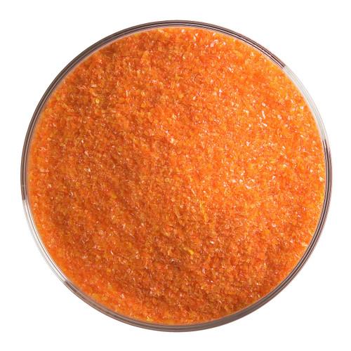 Bullseye Glass Orange Opal, Frit, Fine, 1 lb jar 000125-0001-F-P001