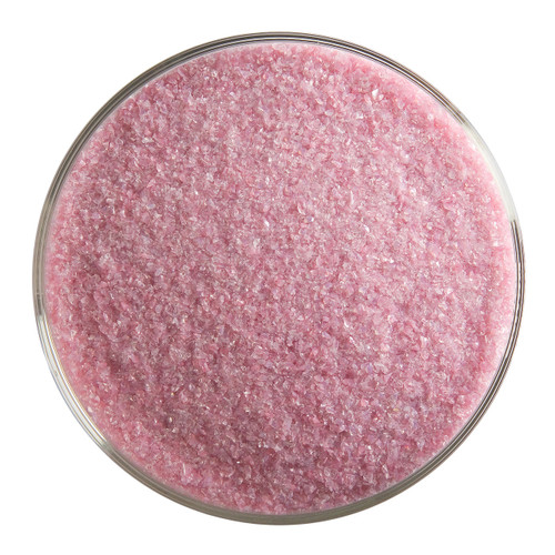 Bullseye Glass Pink Opal, Frit, Fine, 1 lb jar 000301-0001-F-P001