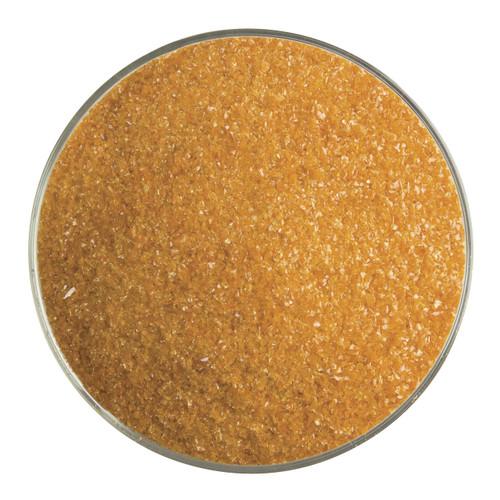 Bullseye Glass Burnt Orange Opal, Frit, Fine, 1 lb jar 000329-0001-F-P001