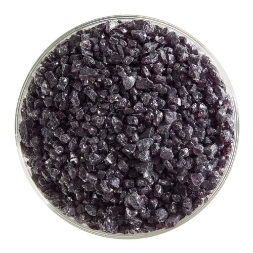 Bullseye Glass Charcoal Gray Transparent, Frit, Coarse, 1 lb jar 001129-0003-F-P001