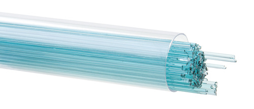 Light Aquamarine Blue Transparent, 1mm Stringer