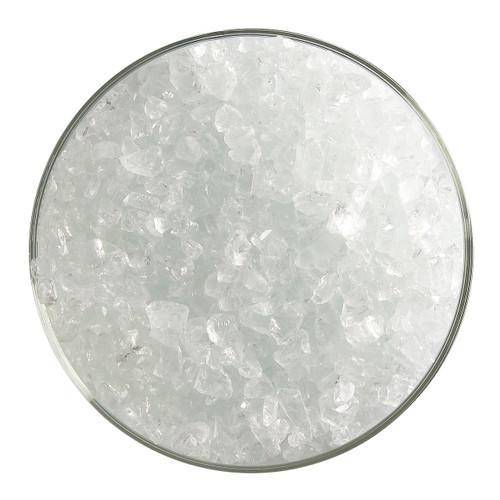 Bullseye Glass Burnt Scarlet Striker Transparent Tint, Frit, Coarse, 1 lb jar 001823-0003-F-P001