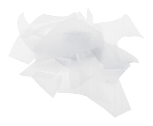 White Opal, Confetti, 4 oz jar