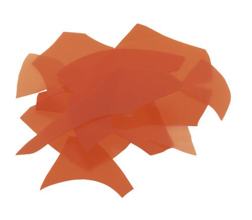 Orange Opal, Confetti, 4 oz jar