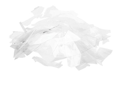 Crystal Clear Transparent, Confetti, 4 oz jar