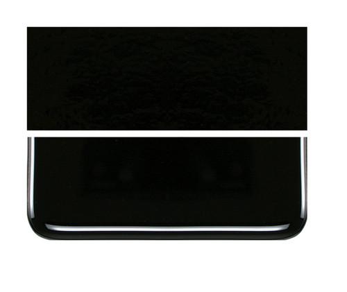 Bullseye Glass Stiff Black, Dbl-rolled 000101-0030-F-1010