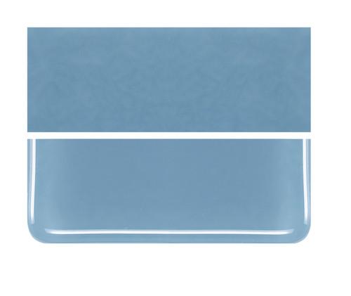 Bullseye Glass Powder Blue, Dbl-rolled 000108-0030-F-1010