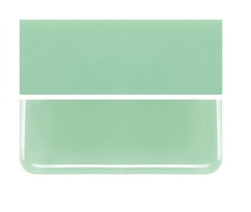 Bullseye Glass Mint Green, Dbl-rolled 000112-0030-F-1010