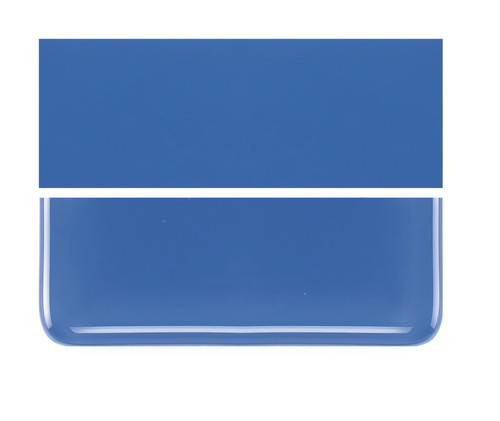 Bullseye Glass Cobalt Blue, Dbl-rolled 000114-0030-F-1010