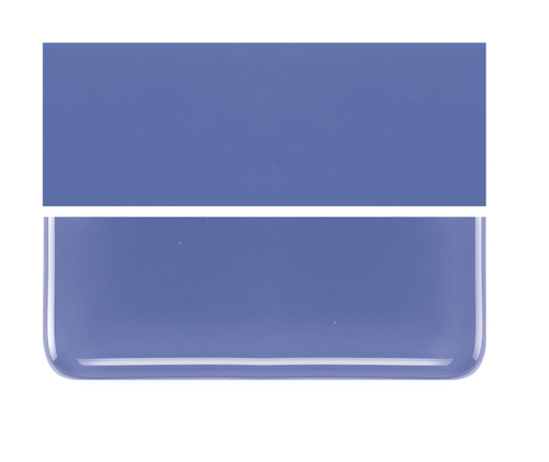 Bullseye Glass Periwinkle, Dbl-rolled 000118-0030-F-1010