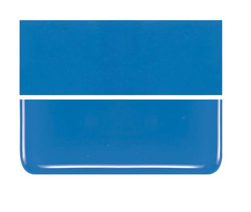 Bullseye Glass Egyptian Blue, Dbl-rolled 000164-0030-F-1010