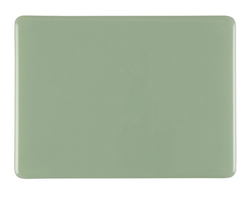Bullseye Glass Celadon, Dbl-rolled 000207-0030-F-1010