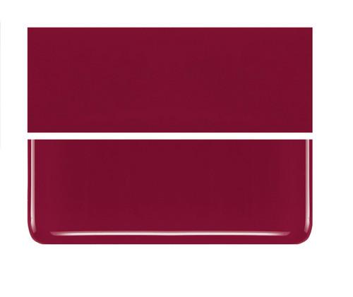 Bullseye Glass Deep Red, Dbl-rolled 000224-0030-F-1010