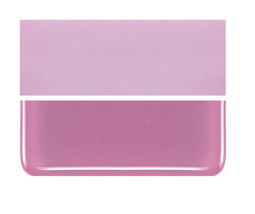 Bullseye Glass Pink, Dbl-rolled 000301-0030-F-1010