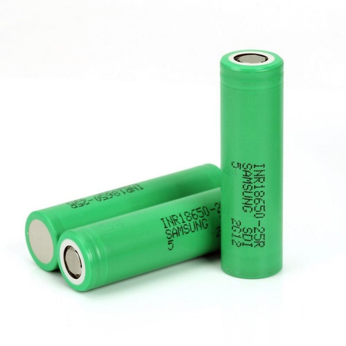 Samsung 25R 2500 mah Battery