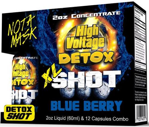 High Voltage Detox XL Shot Combo