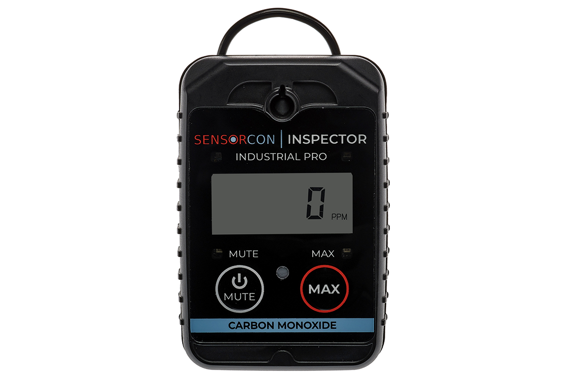 Sensorcon Inspector 2 Industrial Pro Intrinsically Safe Carbon Monoxide Detector & CO Meter - INS2-CO-03
