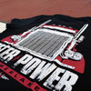 Peter Power Hammer Lane T-Shirt Design Close Up