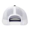 Snapback Black & White Hammer Lane Hat Back