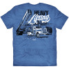 Heavy Lifting Hammer Lane Trucker Shirt Back