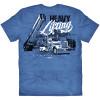 Heavy Lifting Hammer Lane Trucker Shirt Back