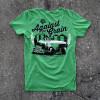 Against The Grain Hammer Lane Trucker T-Shirt On Pavement