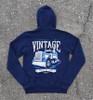 Vintage Hammer Lane Zip Up Hoodie Back Pavement