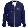 Vintage Hammer Lane Zip Up Hoodie Front