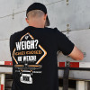 No Weigh 2.0 AK Series Hammer Lane Trucker T-Shirt On Model Back