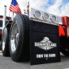 Hammer Lane Logo Mudflap On Truck