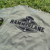 Hammer Lane Logo Military Green T-Shirt