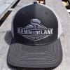 Hammerlane Silver Charcoal Snap Back Trucker Hat