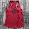 Ladies Hammer Lane Logo Tank Top Red On Pallet
