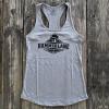 Ladies Hammer Lane Logo Tank Top Heather Grey On Pallet