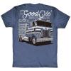 Good Ole Days Of Trucking Hammer Lane T-Shirt Back