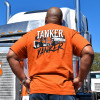 Tanker Yanker Hammer Lane Shirt On Model Back
