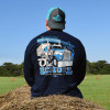 Old School Hammer Lane Long Sleeve T-Shirt On Model Back
