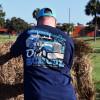 Old School Hammer Lane Long Sleeve T-Shirt On Model Angle 2