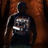 Graveyard Hammer Lane T-Shirt On Model
