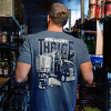 Breaking The Ice Hammer Lane T-Shirt On Model Front Angle