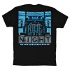 Ride Into The Night Hammerlane Short Sleeve T-Shirt Back