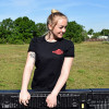 Get Lifted Hammerlane T-Shirt On Female Model Front