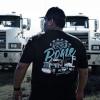 Chrome To The Bone Hammer Lane T-Shirt On Male Model